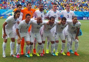 Uruguai 2014 contra a Italia