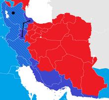 Iran War map 5