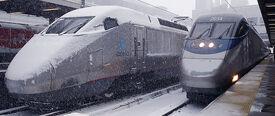 Antarctica train
