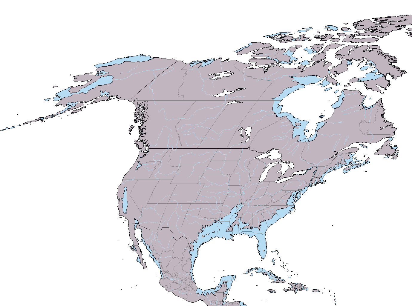 Image North America Climate Changepng Future Fandom Powered - Map of north america climate