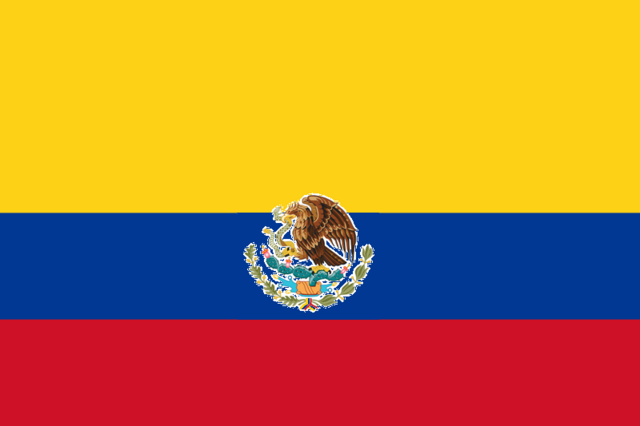 File:Flag of North Colombia (annexed by CAUQ).png