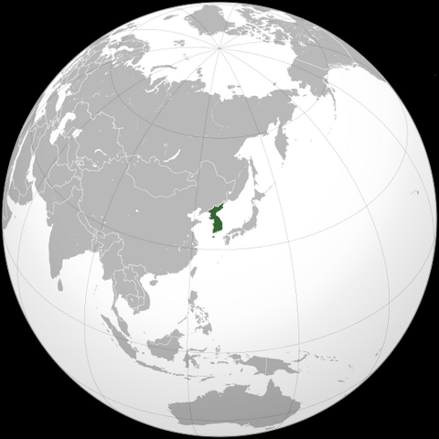 File:Korea (orthographic projection).png