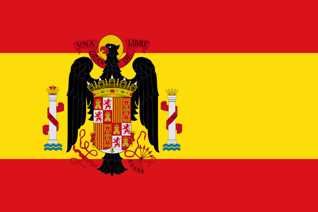 File:Flag of Spain (1945 - 1977).png