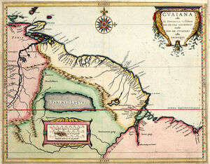 Great Guayana in 1625