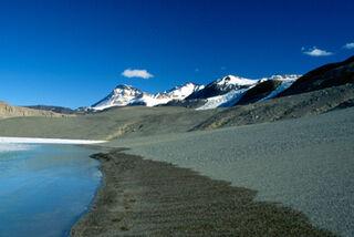 Antarctic shore