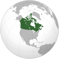 Canada (orthographic projection) svg