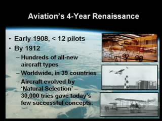 Aviation 4 year snapshot