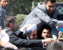 Rouhani taken away