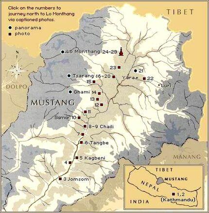 Mustang-map
