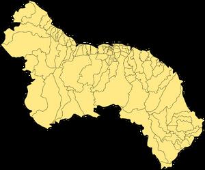 Municipalities of Great Guayana Republic