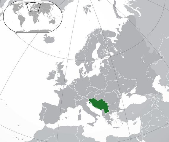 File:Map of Yugoslavia (Modern).png