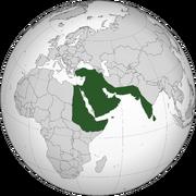 Pearl Saudi empire 2039 Without Libyan Border
