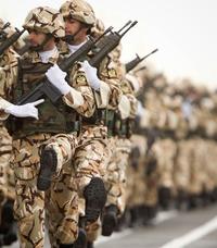 Iranian troops preparation