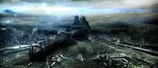 Eiffel tower-in ruins-featured