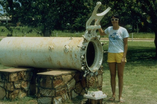 File:Early diving recompression chamber at Broome, Western Australia.jpg