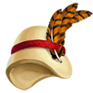 Pheasant Feather Hat