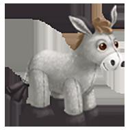 Stuffed Donkey Toy