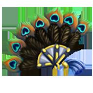 Fancy Feather Fan