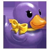 Posh Rubber Ducky