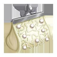 White Pearl Handbag