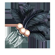 Plume Hair Comb