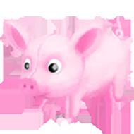 Pink Pig Toy