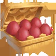 Red Egg Carton