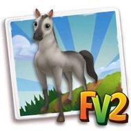 Silver Akhal-Teke Horse