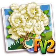 Heirloom White Crape Myrtle Bouquet