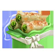 Stuffed Perch