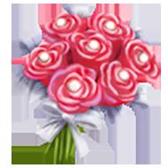 Peach Pearl Bouquet