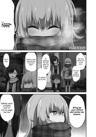 Gabriel Dropout Manga Chapter 021 - -Cover-