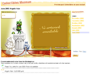 Ft Collectible Museum page