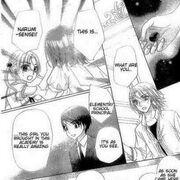 Mikan steal luna