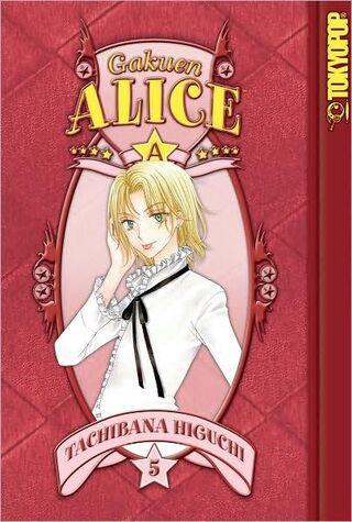 Gakuen Alice Manga v05 en cover