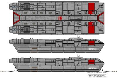 Hesperus Class Command Ship