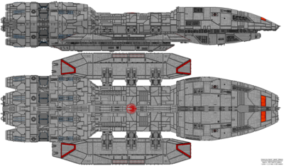 Battlestar Ares (Mercury Class)
