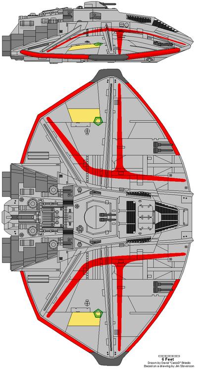 Cylon Raider Mark IX (A)