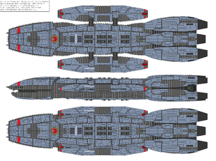 Battlestar Themistoclea - Victorious type