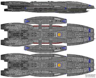 Battlestar Cerberus - Columbia Class