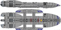 Spartan Class Battlestar (D8)