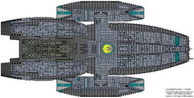 Delphi Class Light Battlestar
