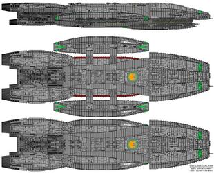 Battlestar Rycon - Columbia Class