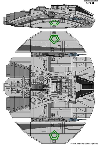 Cylon Raider (TOS)