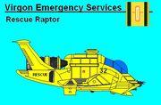 Virgon Rescue Raptor