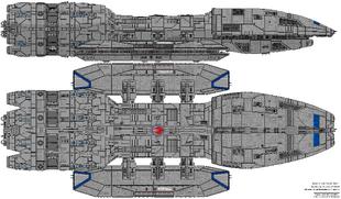 Eternal Class Battlestar - Refit