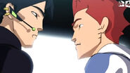 7. D'Jok with his Shadow rival, Sinedd