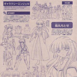Chitose Anime Concept Art
