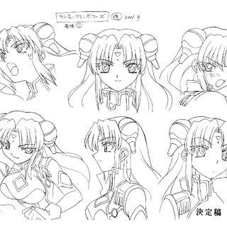 Ranpha Anime Concept Art 2