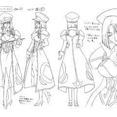 Forte Anime Concept Art